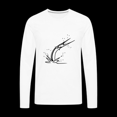 NEEDLEFISH - Men's Premium Longsleeve Shirt