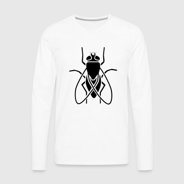 Insect - fly - Men's Premium Longsleeve Shirt