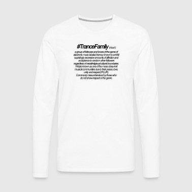 Definition of Trance Family - Men's Premium Longsleeve Shirt