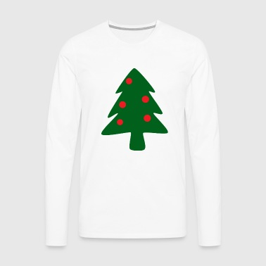 Christmas tree - Men's Premium Longsleeve Shirt
