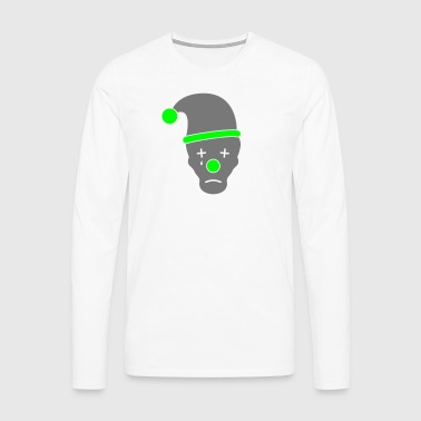 Sad clown - Men's Premium Longsleeve Shirt