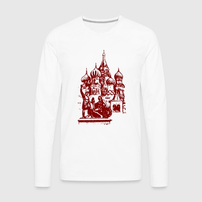 Russian church - Men's Premium Longsleeve Shirt
