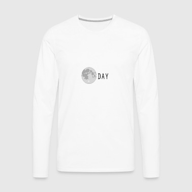 Moonday - Men's Premium Longsleeve Shirt