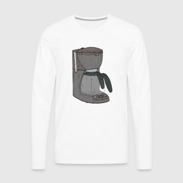 cafe machine - Men's Premium Longsleeve Shirt