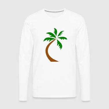 Crooked palm - Men's Premium Longsleeve Shirt