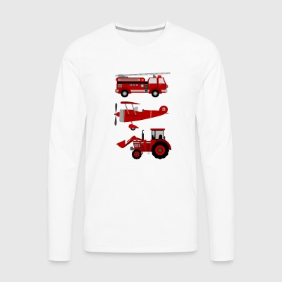 vehicles - Men's Premium Longsleeve Shirt