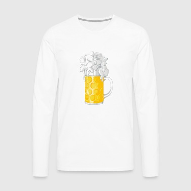 Ice Cold Bers - Men's Premium Longsleeve Shirt