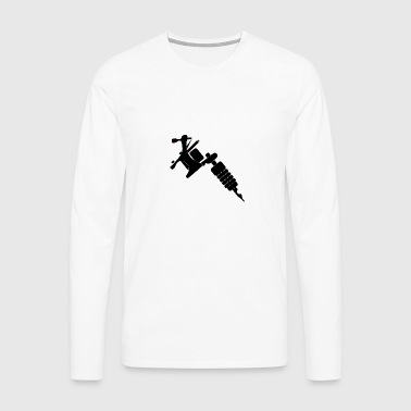 Tattoo Machine - Men's Premium Longsleeve Shirt
