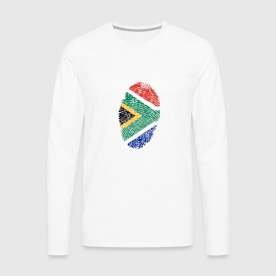 Fingerprint - South Africa - Men's Premium Longsleeve Shirt