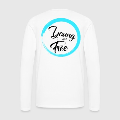 Young and Free - Men's Premium Longsleeve Shirt