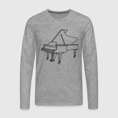 PIANO - Men's Premium Longsleeve Shirt