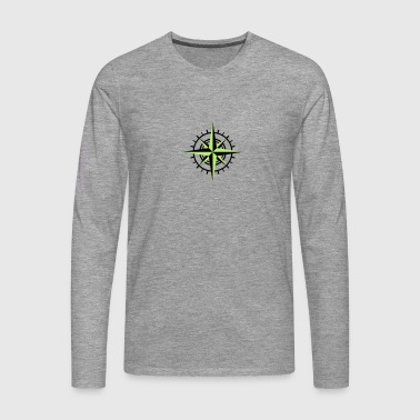 Rose of the winds - Men's Premium Longsleeve Shirt