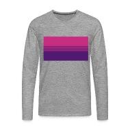 Bisexual pride flag shirt