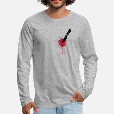 Stab STABBED KNIFE - Men's Premium Longsleeve Shirt
