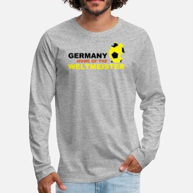 Tor germany home of the weltmeister - Männer Premium Langarmshirt
