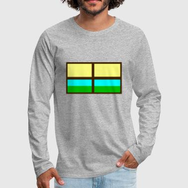 Windows window - Men's Premium Longsleeve Shirt