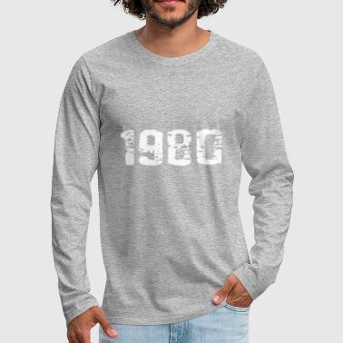 1980 - Men's Premium Longsleeve Shirt