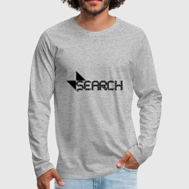 SEARCH - Men's Premium Longsleeve Shirt