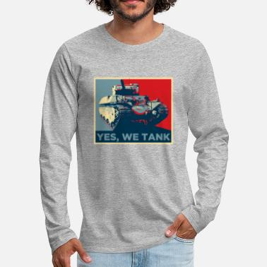 World Of Tanks World of Tanks - Yes, we tank - Men's Premium Longsleeve Shirt