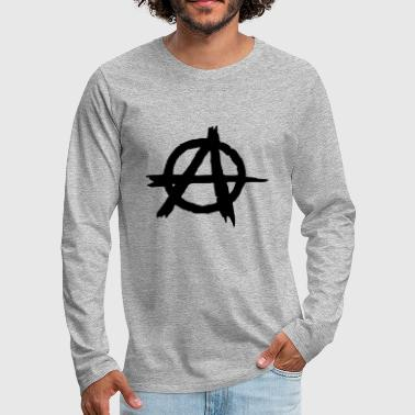 Anarchist Anarchy Anarchist Punk - Men's Premium Longsleeve Shirt