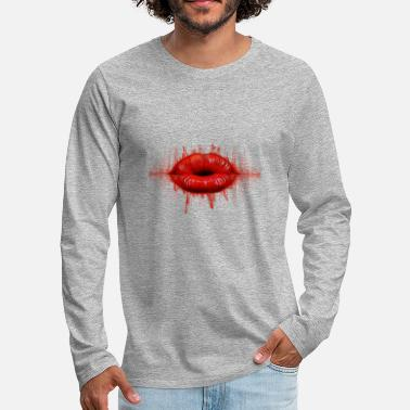 electric lip - Men's Premium Longsleeve Shirt