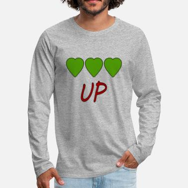 Up UP - T-shirt manches longues Premium Homme