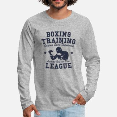 Training boxing training - T-shirt manches longues Premium Homme