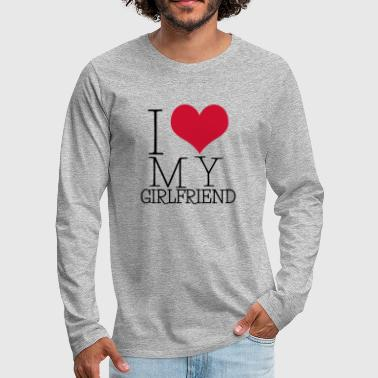 i love my girl - Men's Premium Longsleeve Shirt