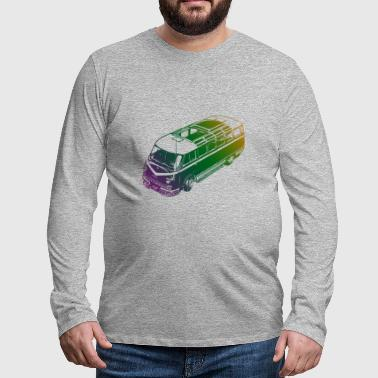 Mini-Van Colored - Männer Premium Langarmshirt