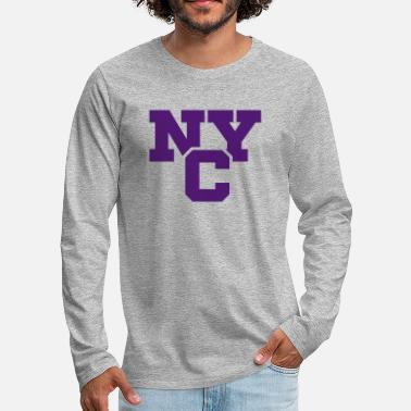 Nyc NYC - T-shirt manches longues Premium Homme