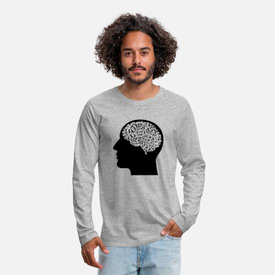 Luscious Long sleeve shirts - sex - Men's Premium Longsleeve Shirt heather grey