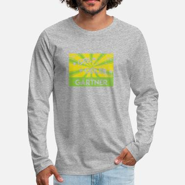 Thumbs Gardener Shirt · Green Worker · Craft Gift - Men's Premium Longsleeve Shirt