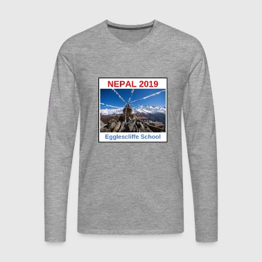 NEPAL LOGO VERSION 3 - Men's Premium Longsleeve Shirt