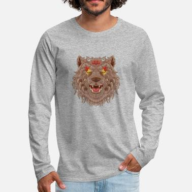 Tatoo WOLF TATOO - Men's Premium Longsleeve Shirt