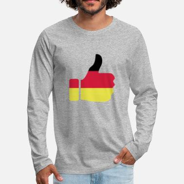 Thumbs Germany Thumbs up - Men's Premium Longsleeve Shirt