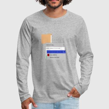 COMMON SENSE FAILED. - Men's Premium Longsleeve Shirt