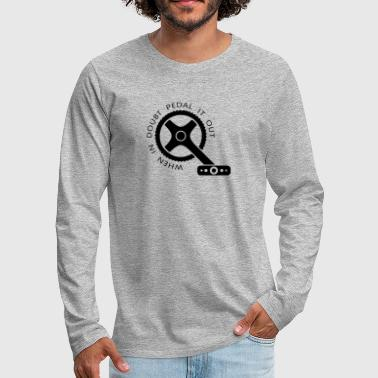Dos Bike Single Speed Fixie Mountain Bike Regalo - Camiseta de manga larga premium hombre