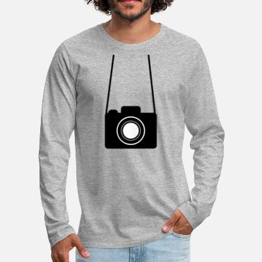 Suspenders Suspended camera - Men's Premium Longsleeve Shirt