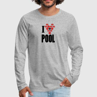 Pool pool - Men's Premium Longsleeve Shirt