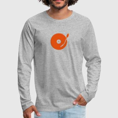 turntable - T-shirt manches longues Premium Homme