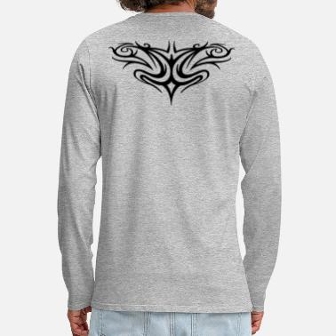 Tribal Tribal back - T-shirt manches longues Premium Homme