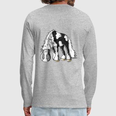 Dreamy Irish Tinker - Gypsy Cob - Men's Premium Longsleeve Shirt