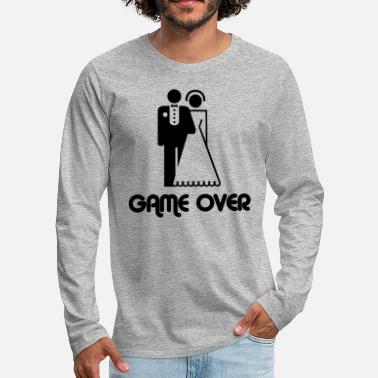 Game Over Game Over - T-shirt manches longues premium Homme