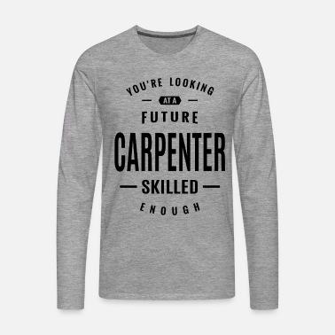 Snekker Arbeid Jobbtittel Gave Premium T skjorte for menn