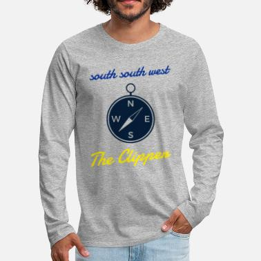 South The Clipper - south south west - - Men's Premium Longsleeve Shirt