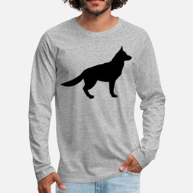 Shepherd german shepherd - Men's Premium Longsleeve Shirt