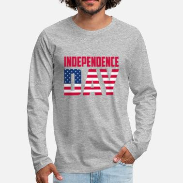 Independence Day Independence day - T-shirt manches longues premium Homme