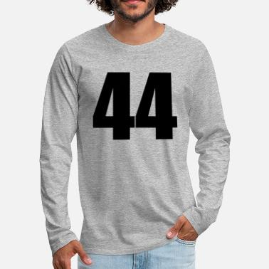 44 44 - Men's Premium Longsleeve Shirt