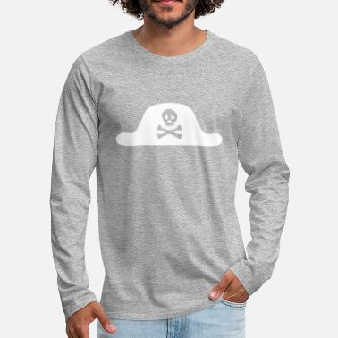 a125e09a96b5 Pirate pirate hat skull death pirate sailor - Men  39 s Premium Longsleeve  Shirt. Men s Premium Longsleeve Shirt