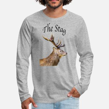 Stag Stag - Men's Premium Longsleeve Shirt